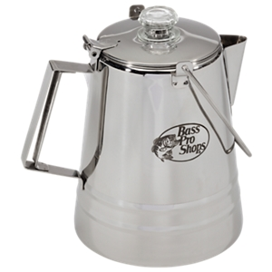 Bass Pro Shops 14cup Stainless Steel Campfire Percolator