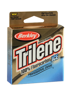 Berkley Trilene 100 Fluorocarbon Ice Fishing Line