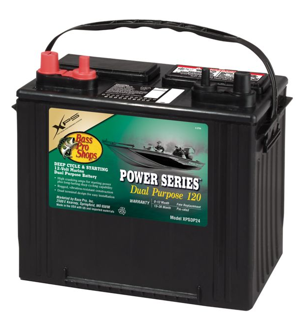 XPS Power Series Boat Battery Dual Purpose BPS