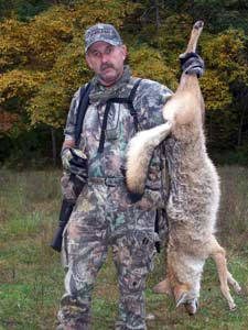Hunter And Coyote Trophy