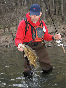 EarlySeasonStreamSmallmouth DaveKeith