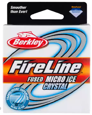Berkley FireLine Crystal Micro Ice Fishing Line 50 Yard Pony Spool