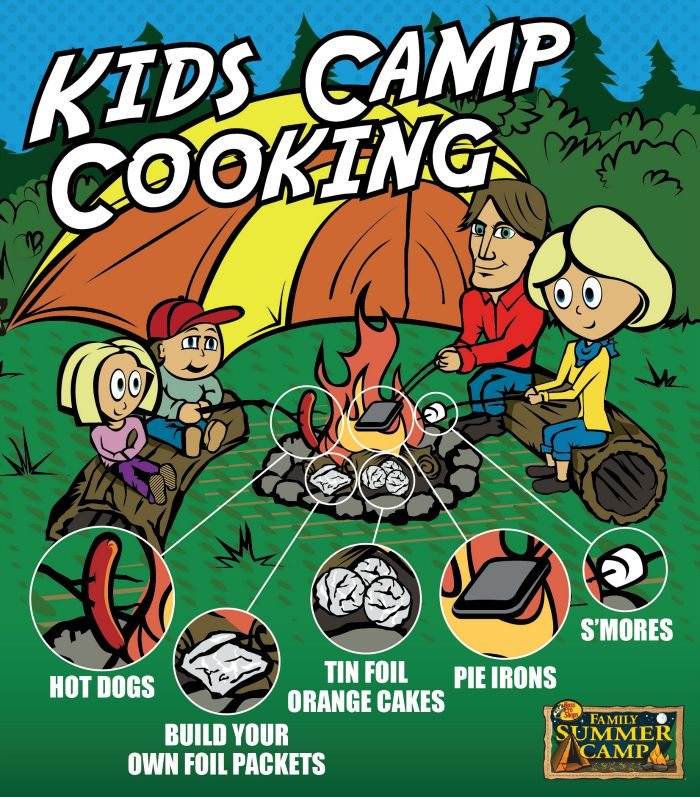 Kids outdoor cooking ideas