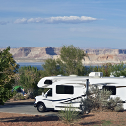 Renting An RV Scenic Campsites