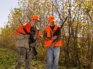 Hunters Wearing Safety Orange