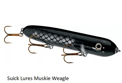 Suick Weagle Walk The Dog Style Top Water Bait