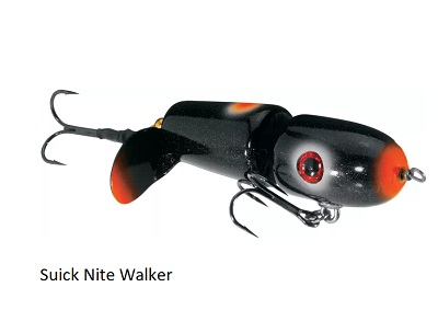 Suick Nite Walker Top Water Lure