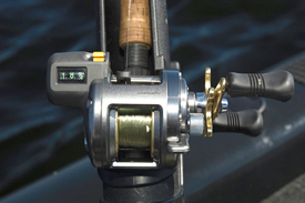 Line-counter fishing reels