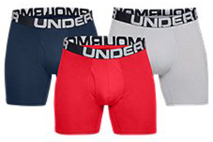 Under Armour Charged Cotton Boxer Briefs