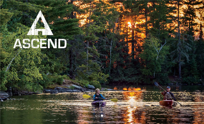 ascend kayakers