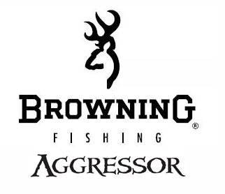 browning fishing reels logo aggressor