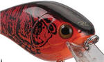 crankbait red black craw