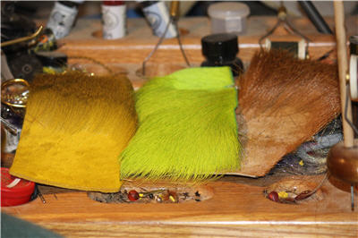 deer hair tying material 400