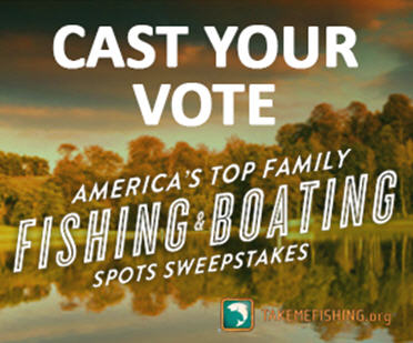 fishing boating spots sweepstakes