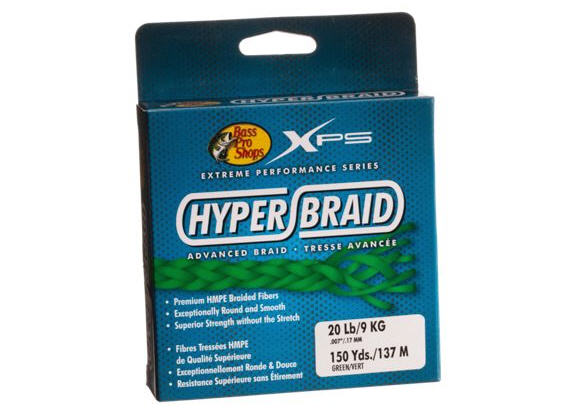 fishing line hyper braid BPS