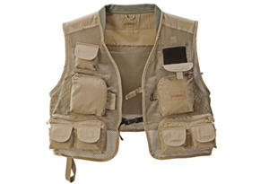 fishing vest youth pocket CAB