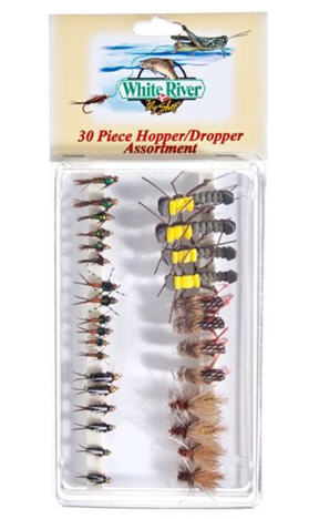 fly hopper dropper setup