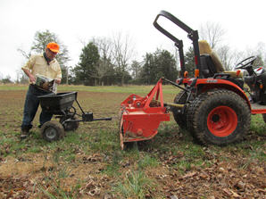 food plot equipment