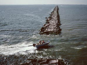 galveston jetties
