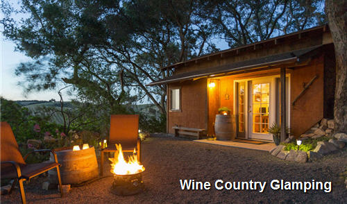 glamping wine country
