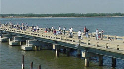 grandy bridge fishing pier