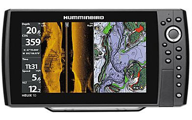Shop this Humminbird helix fishfinder at basspro.com