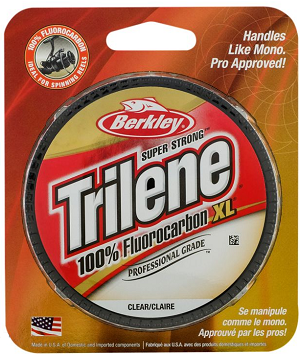 Berkley Trilene ​100% Fluorocarbon XL Professional Grade Fishing Line 200 Yards  ​
