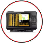 Garmin Striker Plus 7sv Fishfinder/GPS Combo - 7'' Display