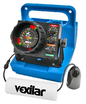 Vexilar FL-18 Genz  Pack with 12 Degree Ice Ducer
