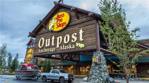 Bass Pro Shops Anchorage, Alaska store front