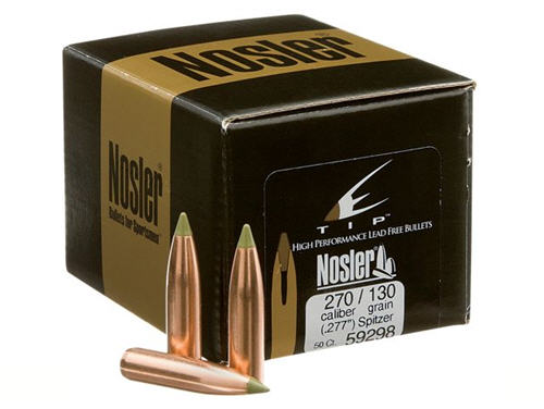 Find lead-free bullets by Nosler at basspro.com