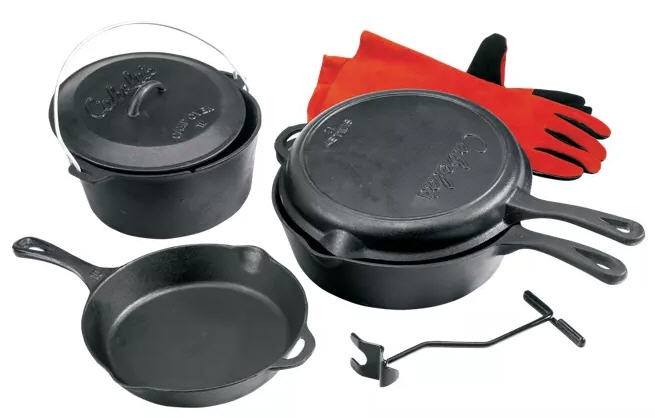 Cabela's Cast-Iron 5-Piece Starter Set