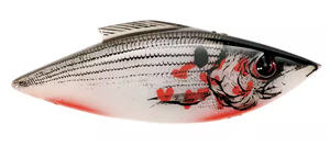 Bill Lewis Rat-L-Trap Tiny Trap - color White Bleeding Shad