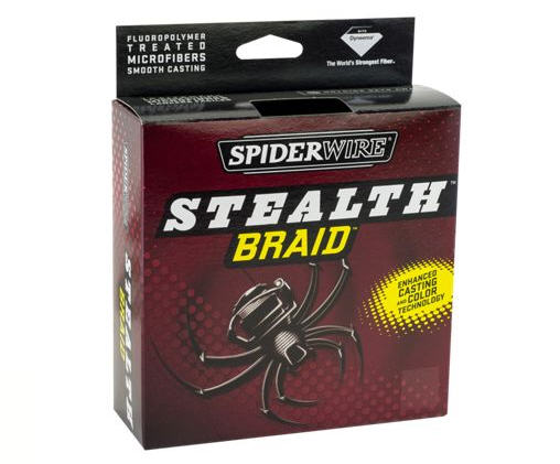 Shop Spiderwire Stealth Braid Fishing Line at basspro.com