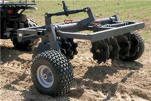 Tarter Terrain Tough ATV 8-Blade Disc Harrow