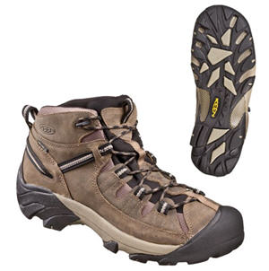 KEEN Targhee II Mid Waterproof Hiking Boots for Men