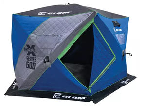 Clam X600 Thermal Hub Ice Shelter