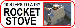 10 steps to a DIY rocket Stove