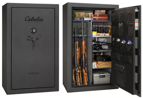 Cabela's Outfitter Mechanical Lock 30-Gun Safe by Liberty
