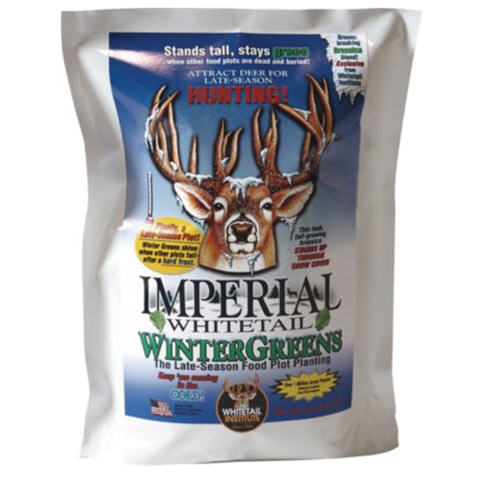 Bag of Whitetail wintergreen seed for planting to attract deer in late season