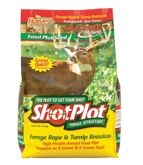 Evolved Harvest ShotPlot Forage Attractant - 2.5 lbs. - Plants 1/2 Acre