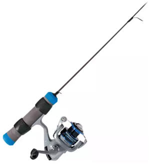 Clam Dave Genz Spring Bobber Ice Spinning Combo