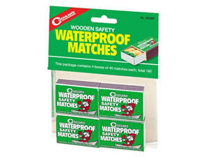 matches waterproof coghlans