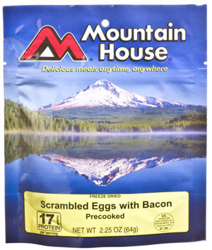 mountain house scrambled eggs bacon