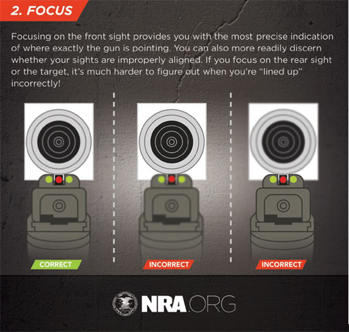 nra-shooting pistol sight