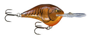 rapala crank drk brown crawd