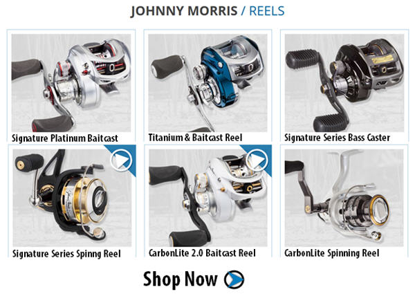 shop johnnyM reels