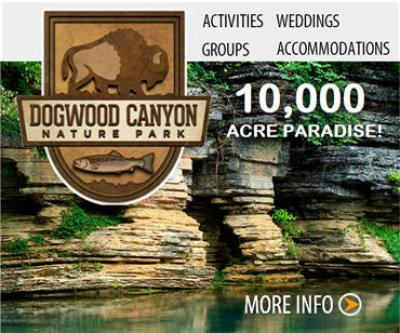 Visit Dogwood Canyon nature park
