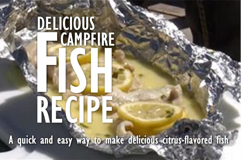 Fish recipe in tin foil