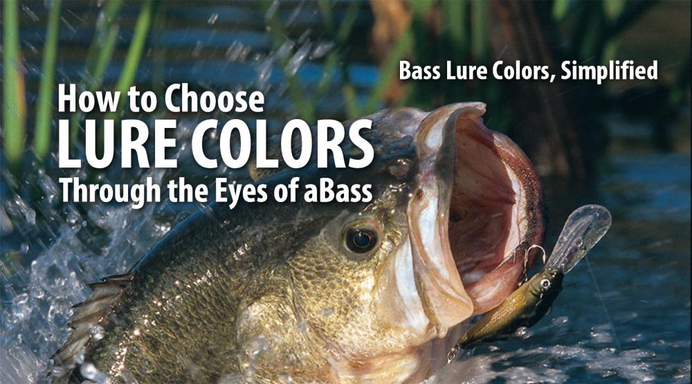 There are some crazy lure color names. Discover the science behind how bass see color, and learn which colors yield better results.